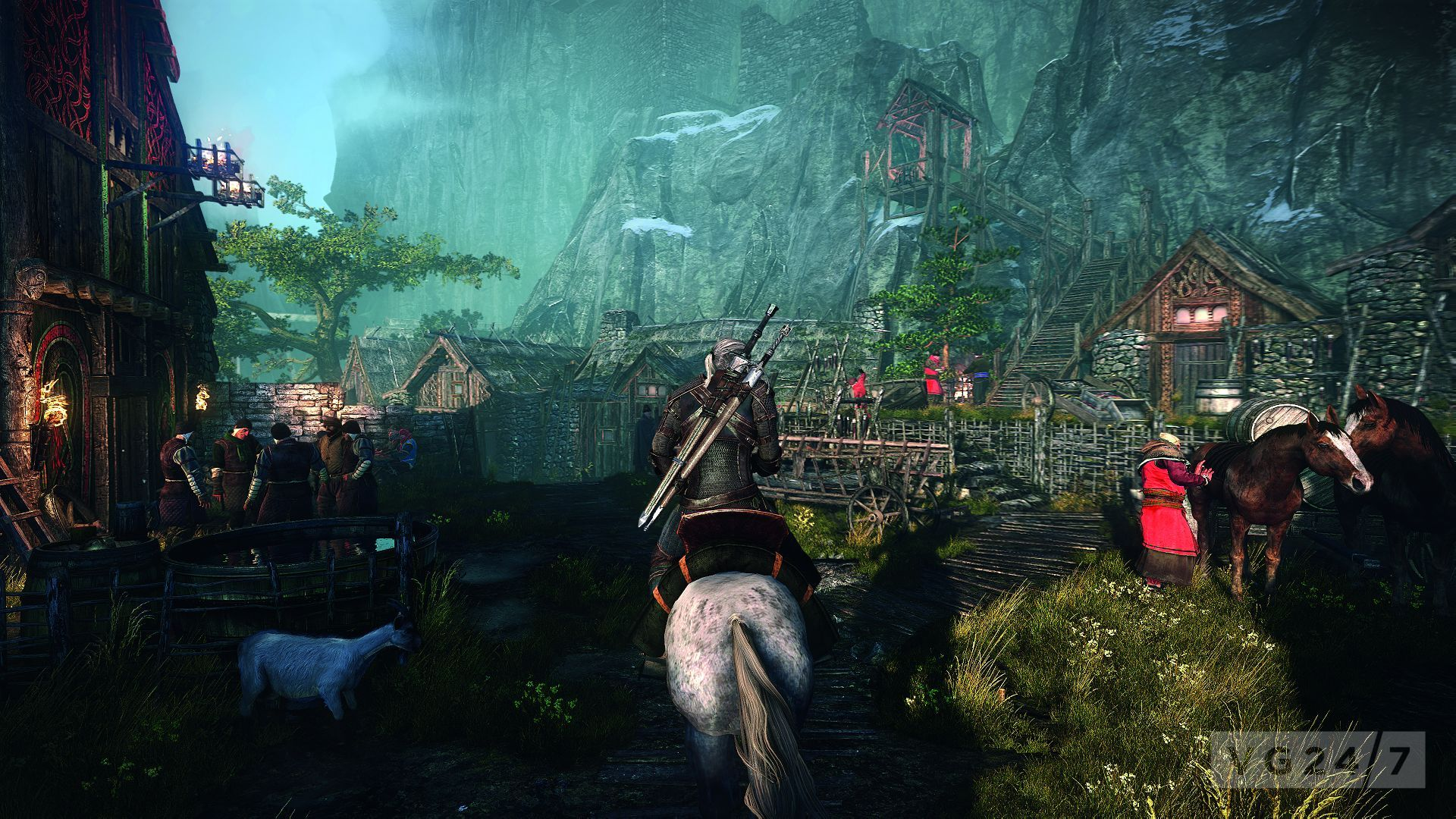 O lume open world in The Witcher 3 : Wild Hunt