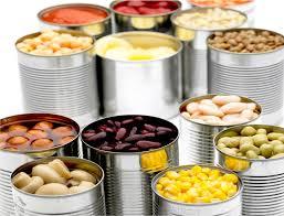 Viata de raft la alimentele conservate