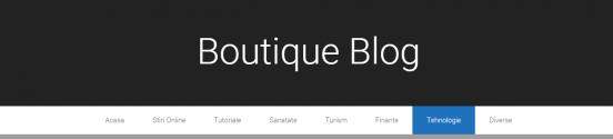 Boutique Blog