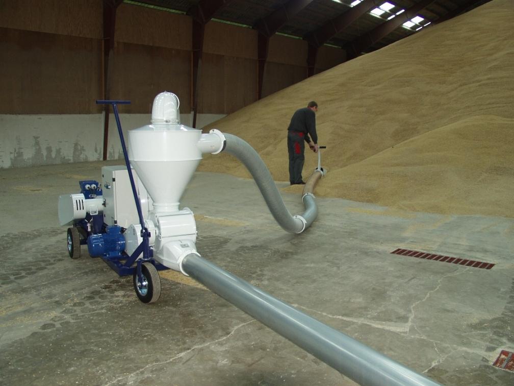 Ce poate să facă un transportor pneumatic de cereale ?
